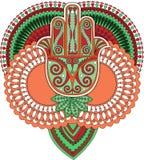 Ινδική τέχνη Στοκ εικόνες με δικαίωμα ελεύθερης χρήσης