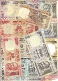 ινδική διεθνής ρουπία σημ&ep Στοκ Εικόνα