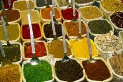 Ινδική bazaar αγορά Goa Anjuna καρυκευμάτων Στοκ εικόνες με δικαίωμα ελεύθερης χρήσης