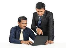Ινδικοί επιχειρηματίες Στοκ Εικόνα
