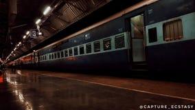 Ινδικοί σιδηρόδρομοι τραίνων Στοκ Εικόνες