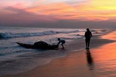 Ινδικοί ψαράδες στοκ εικόνες