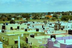 Ινδικός αστικός άποψη-hosur-βλέπει Στοκ φωτογραφία με δικαίωμα ελεύθερης χρήσης