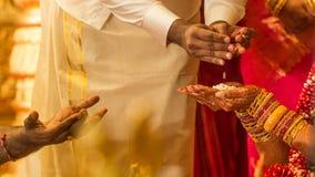 Ινδικός γάμος rital στοκ εικόνα