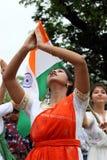 Ινδικός εορτασμός ημέρας της ανεξαρτησίας Στοκ εικόνα με δικαίωμα ελεύθερης χρήσης