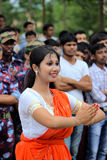 Ινδικός εορτασμός ημέρας της ανεξαρτησίας Στοκ Εικόνες