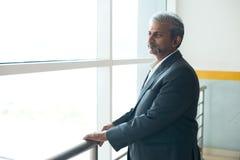 Ινδικός επιχειρηματίας υπαίθριος Στοκ Εικόνα