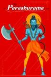 Ινδικός Θεός Parashurama με το τσεκούρι Στοκ φωτογραφία με δικαίωμα ελεύθερης χρήσης