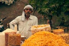 ινδικός πλανόδιος πωλητή&sigm στοκ εικόνες