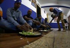 Ινδικός σιχ χρόνος 02 μεσημεριανού γεύματος Στοκ Εικόνες