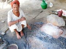Ινδικός σιδηρουργός Στοκ Εικόνες