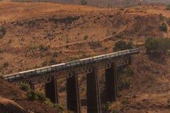 ινδικός σιδηρόδρομος Στοκ Φωτογραφία