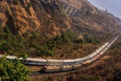 ινδικός σιδηρόδρομος Στοκ Φωτογραφίες