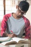 Ινδικός φοιτητής πανεπιστημίου Στοκ Εικόνα