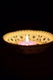 Ινδικός φωτισμός κεριών Diwali φεστιβάλ Στοκ φωτογραφία με δικαίωμα ελεύθερης χρήσης