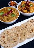 ινδικός χορτοφάγος γεύματος Στοκ Εικόνες