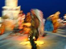 Ινδικός χορός Dreamlike Στοκ φωτογραφία με δικαίωμα ελεύθερης χρήσης