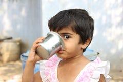 Ινδικό αγροτικό κορίτσι Στοκ φωτογραφία με δικαίωμα ελεύθερης χρήσης