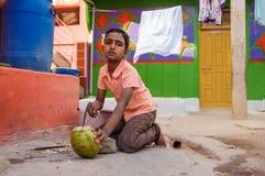 Ινδικό αγόρι Στοκ Εικόνες