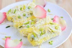 Ινδικό βεγγαλικό pitha Patishapta γλυκών στοκ φωτογραφία με δικαίωμα ελεύθερης χρήσης