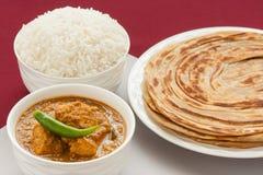 ινδικό γεύμα κάρρυ κοτόπουλου Στοκ εικόνες με δικαίωμα ελεύθερης χρήσης