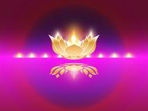 Ινδικό εορταστικό diwali Στοκ Εικόνα