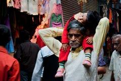 Ινδικό παιδί Στοκ Εικόνα