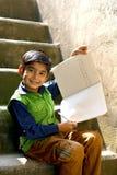 Ινδικό παιδί Στοκ φωτογραφία με δικαίωμα ελεύθερης χρήσης