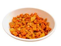 Ινδικό πιάτο - ανακατώστε το τηγανισμένο καρότο Στοκ εικόνα με δικαίωμα ελεύθερης χρήσης