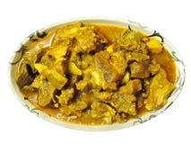 Ινδικό πιάτο - κάρρυ πρόβειων κρεάτων Στοκ εικόνα με δικαίωμα ελεύθερης χρήσης
