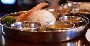 Ινδικό πιάτο Στοκ Εικόνες