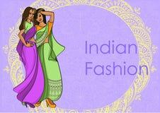Ινδικό σύνολο μόδας Στοκ Εικόνες