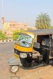 Ινδικό ταξί, τοπική μεταφορά Στοκ φωτογραφία με δικαίωμα ελεύθερης χρήσης