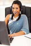 Ινδικό τηλεφωνικό κέντρο Στοκ Εικόνες