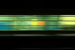 Ινδικό τραίνο στη διαδρομή Στοκ Φωτογραφία