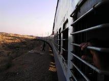 ινδικό τραίνο Στοκ Φωτογραφίες