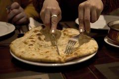 Ινδικό ψωμί στοκ εικόνες