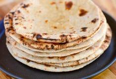Ινδικό Chapati στοκ εικόνα με δικαίωμα ελεύθερης χρήσης