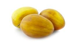Ινδικό mauritiana Ziziphus φρούτων (ινδικά τζίτζιφα) Στοκ φωτογραφία με δικαίωμα ελεύθερης χρήσης