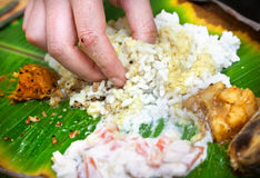 Ινδικό thali veg Στοκ Φωτογραφίες