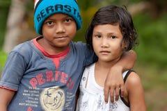 Ινδονησιακά παιδιά Στοκ Εικόνες