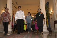 Ινδονησιακή παράδοση ομήρων Στοκ εικόνες με δικαίωμα ελεύθερης χρήσης