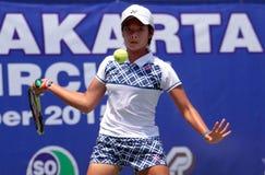 Ινδονησιακός τενίστας Στοκ φωτογραφίες με δικαίωμα ελεύθερης χρήσης