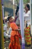 Ινδονησιακό κορίτσι Στοκ Εικόνες