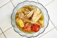 Ινδονησιακό stew κοτόπουλου Στοκ Φωτογραφία