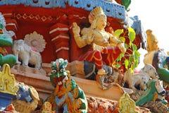 ινδός ναός Αρχιτεκτονικό στοιχείο Στοκ φωτογραφίες με δικαίωμα ελεύθερης χρήσης