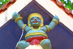 ινδός ναός Αρχιτεκτονικό στοιχείο Στοκ Φωτογραφίες