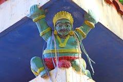 ινδός ναός Αρχιτεκτονικό στοιχείο Στοκ εικόνα με δικαίωμα ελεύθερης χρήσης