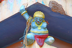 ινδός ναός Αρχιτεκτονικό στοιχείο Στοκ φωτογραφία με δικαίωμα ελεύθερης χρήσης