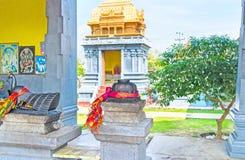 Ινδός ναός σε Anurdhapura Στοκ Εικόνες